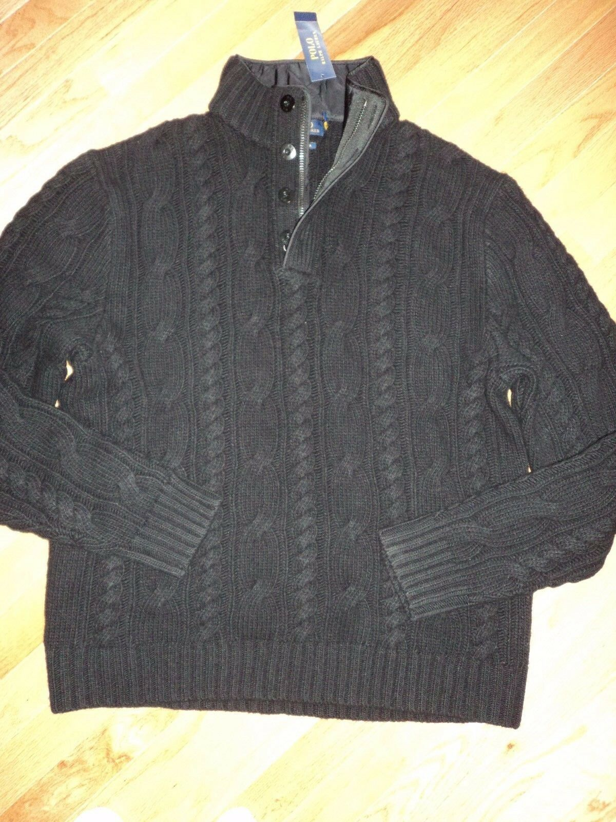 NWT 325 Polo Ralph Lauren 100% Merino Wool Sweater sz XL
