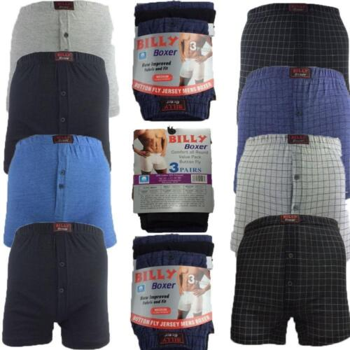 6 PACK Mens Classic Billy Boxer Shorts Cotton  Briefs Underwear Pants S TO 6xl