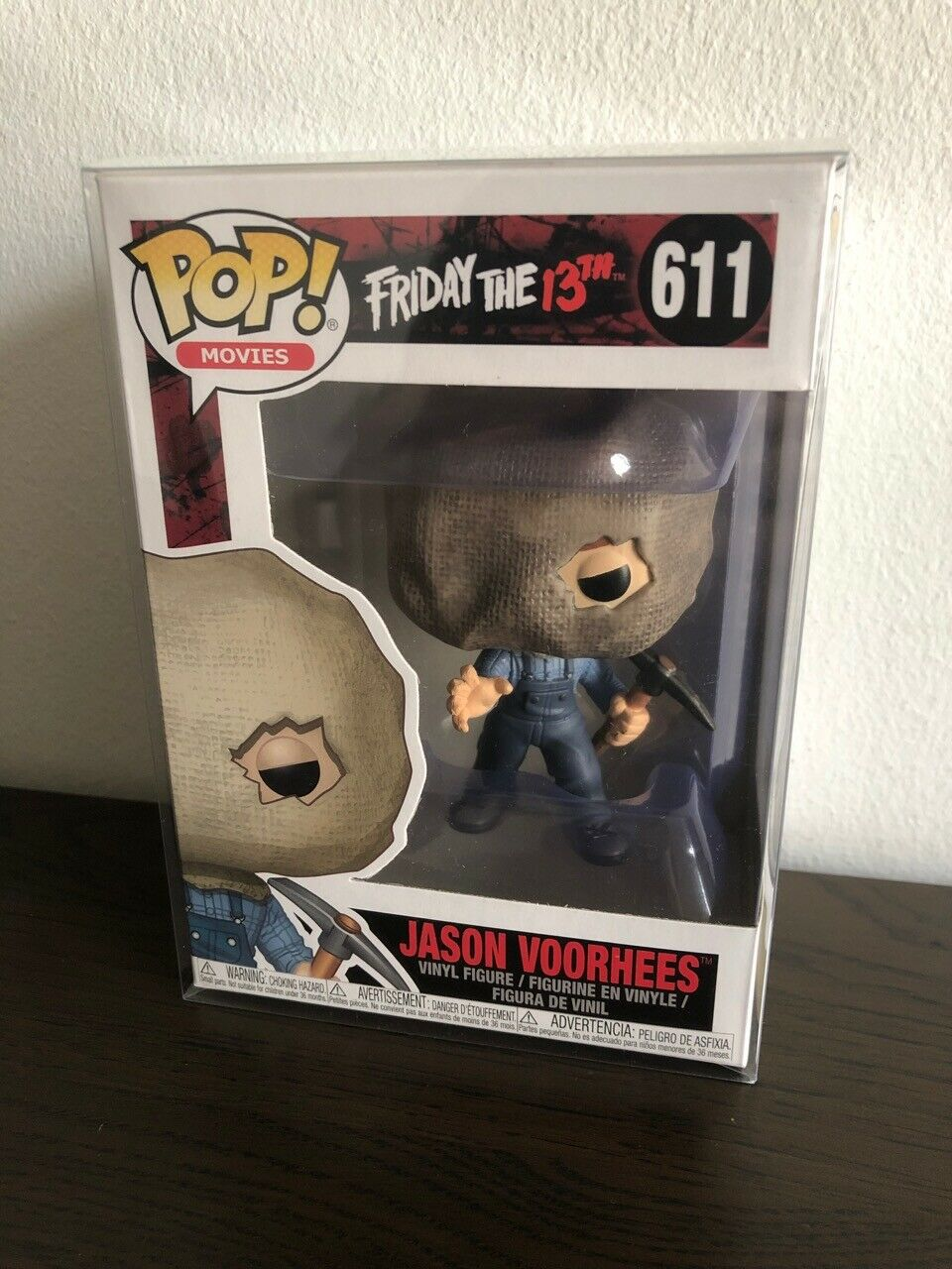 FREE POST Funko Pop Friday the 13th JASON VOORHEES bag mask w predector [1]
