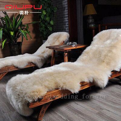 100/% Australian Sheepskin Area Rugs Thick Long Wool Carpet Genuine Lambskin Rugs