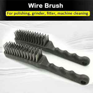 1x-or-2-x-Wire-Brush-Cleaning-Welding-Slag-Scratch-Brush-Stainless-Steel-Brush