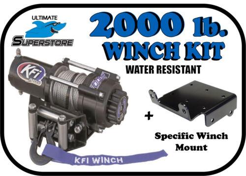 KFI 2000 lb Winch Mount Kit /'02-/'05 Arctic Cat 250 300 375 400 600 500 650