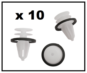 10 x FORD Interior Trim /& Door Card Clips FIESTA FOCUS MONDEO C-MAX TRANSIT