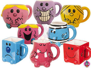 NEW-RETRO-MR-MEN-LITTLE-MISS-CHARACTER-SHAPED-TEA-COFFEE-MUG-CUP