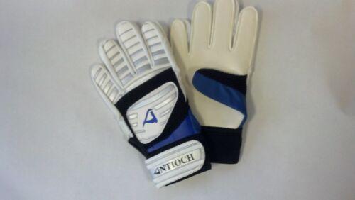 Soccer Goal Keeper Gloves Blue Adult Goalie Gloves Size Small