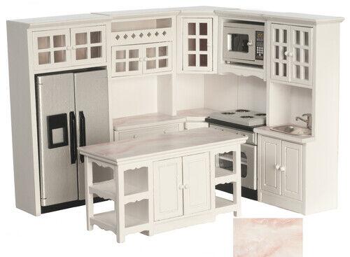Casa Delle Bambole Miniatura Completo Cucina Set di 8 - 1 12 Scala (T5384)