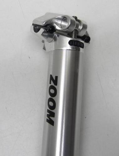 350mm NOS ZOOM Microset Seatpost 29.8 or 31.6