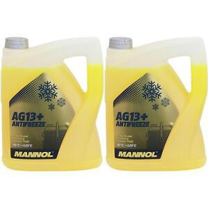 10L-Refrigerante-Mannol-40-C-Fertiggemisch-Anticongelante-Fresco-Tipo-G13