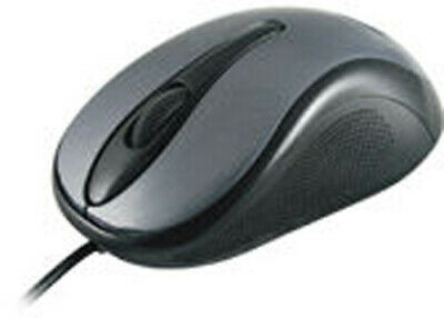 Maplin USB 1.4m Wired Optical Sensor Red Mouse with 3 Button 1000 DPI PC Laptop