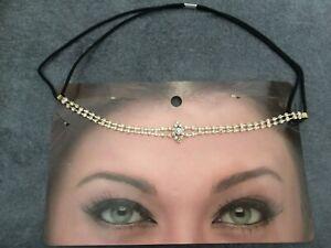 Jewelry-Head-Woman-Boheme-Rhinestone-Size-Unique-Support-Elastic-Marriage-Party