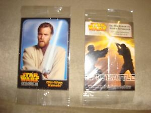 2006 SAFEWAY STAR WARS 3 REVENGE OF THE SITH SET #4 TRADING CARDS EXTREMELY RARE