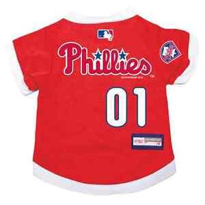 NEW-PHILADELPHIA-PHILLIES-PET-DOG-PREMIUM-MLB-JERSEY-w-NAME-TAG-ALL-SIZES