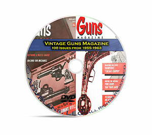 Guns-Magazine-108-Classic-Issues-1955-1963-Reloading-Shooting-Mag-DVD-CD-C07