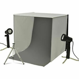 Details About New Xit Xtps101 Portable Photo Studio Lighting Kit For Jewelry Electronics