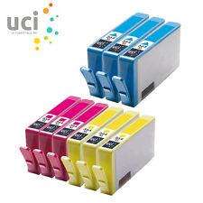 9x CMY NonOEM 364XL Ink Cartridge For HP Deskjet 3070A 3520 e-AIO Officejet 4610