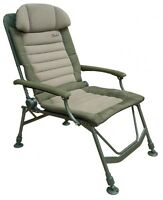 Fox Carp Fishing Fx Super Deluxe Recliner Chair With Arms - Cbc047