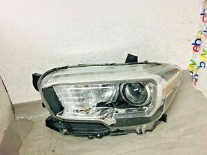 OEM 2016 2017 2018 Toyota Tacoma Left LH Halogen LED DRL Headlight Damaged