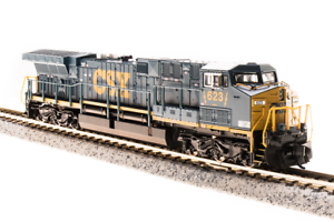 BROADWAY-LIMITED-3747-N-Scale-AC6000Cw-CSX-5011-Dark-Future-Paragon3-Sound-DCC