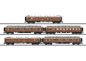 Trix-24793-Schnellzug-Wagenset-CIWL-Orientexpress-5-teilig-NEU-in-OVP