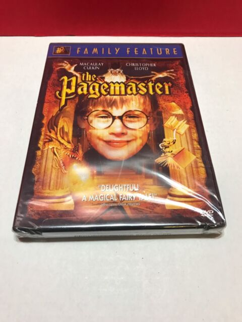 The Pagemaster (DVD) NEW
