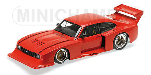 "Minichamps Ford Capri Turbo Gr. 5 "" Red "" 1979, 1:18 Limited Edition 504 Pieces"
