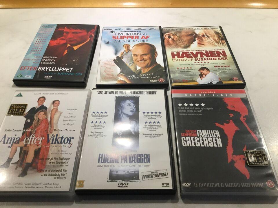 Danske film, instruktør Forskellige, DVD