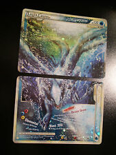 PL Complete LUGIA Pokemon LEGEND Card HGSS HeartGold SoulSilver Set 113-114/123