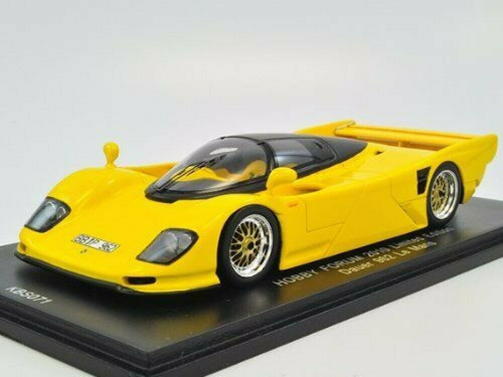 SPARK KBS071 1 43 Dauer 962 LM Road Version Yellow Hobby Forum 2010 LTD New 1 43