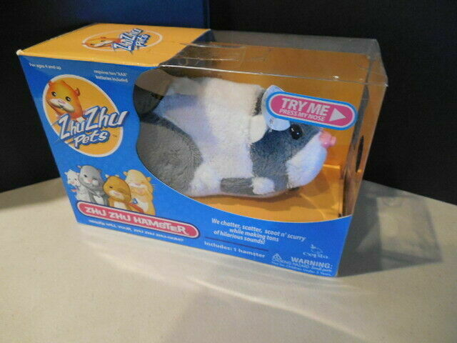 Zhu Zhu Pets Series 4 Hamster Toy Jinx B003uojr5w For Sale Online Ebay