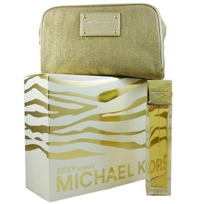 Michael Kors Sexy Amber Set 100 ml Eau de Parfum EDP & Cosmetics Case