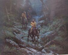 """Robert Summers """" Slicker Down """"  # 4/950 COA W/CERT 1989 Value $1400 1989"""