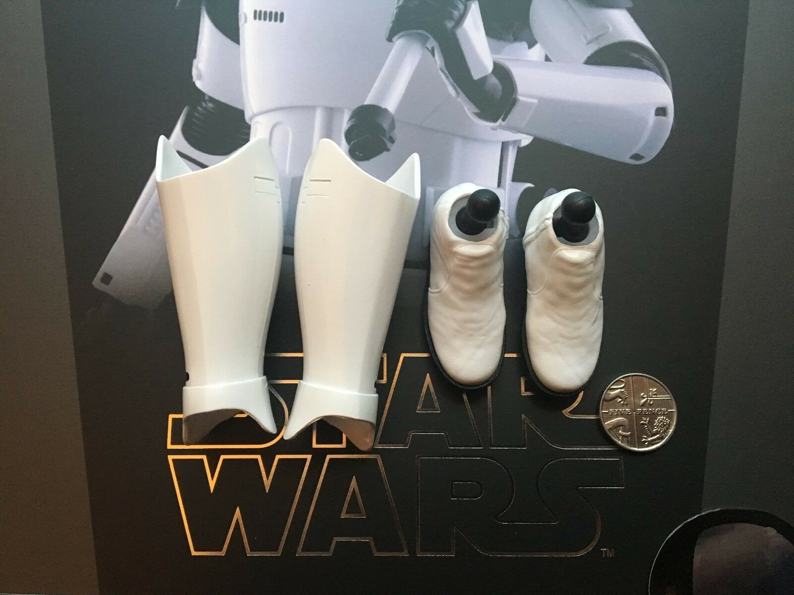 Hot Toys Star Wars The Last Jedi Executioner Trooper Boots loose 1 6th scale