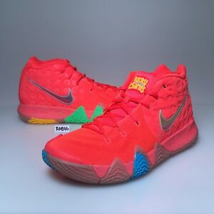 b34c7aee346286 Nike Kyrie Irving 4 IV Lucky Charms Cereal Red Brown BV0428-600 Mens ...