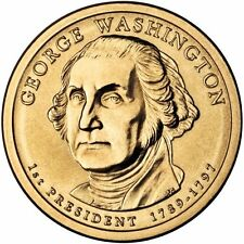 USA: 1 $ 2007 P - 1 Dollar (1 st president George Washington 1789-1797)S/C