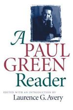 A Paul Green Reader (Chapel Hill Books)-ExLibrary