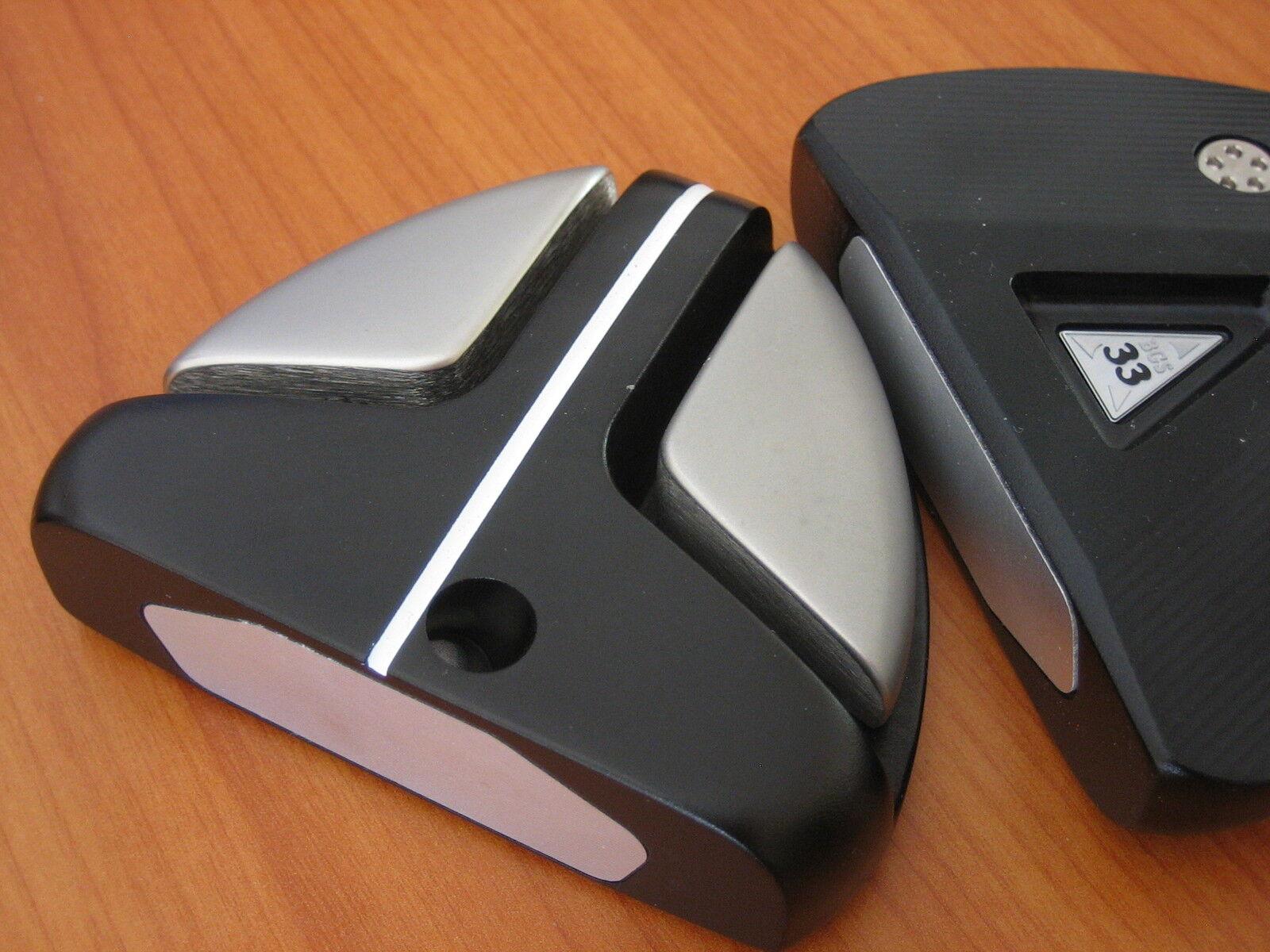 Tour Putter Cabeza BGS-33, desarrollado por Taylor  hizo Eje De Centro De Diseñador, nuevo  tienda en linea