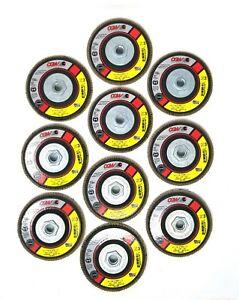 "NEW CGW 4 1//2/"" x 5//8/""-11 Z3 Zirconia 36 Grit Type 27 Flap Disc 10 Pack 42311"