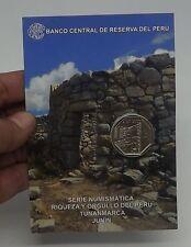 1 SOL 2013 COIN BLISTER RIQUEZA ORGULLO DEL PERU TUNANMARCA JUNIN # 15