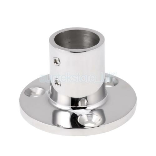 """Boat Hand Rail//Stanchion Base for 1/""""//25mm Tube 90 Degree 316 Stainless Steel"""