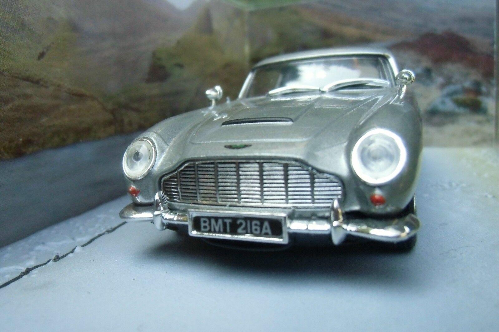 007 JAMES BOND Aston Mkonstin DB5 1 43 bil modelllllerL Skyfall också Spectre guldfinger