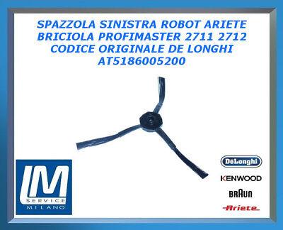 2712 ASPIRAPOLVERE ARIETE SPAZZOLA SINISTRA ROBOT BRICIOLA PROFIMASTER 2711