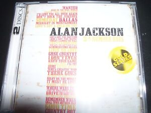 Alan-Jackson-34-Number-Ones-Country-Australia-Gold-Series-2-CD-NEW