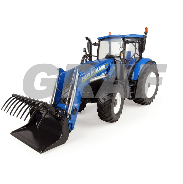 4958 New Holland T5.120 with Front Loader 1 32 Universal Hobbies