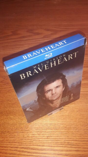 BRAVEHEART new Blu-ray steelbook rare OOP discontinued US import region a