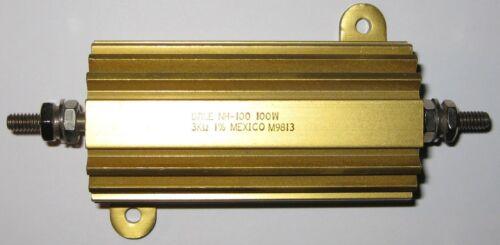 Dale NH-100 Aluminum Housed Power Resistor 3000 Ohm 100 Watt  3 kOhm