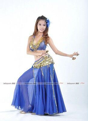 9 color New Shining Sequins Vest Bra Top Tank Top Belly Dance Costume