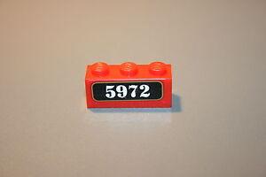 Lego-Rouge-Brick-1x3-Ref-3622-Harry-Potter-Poudlard-Express-4708