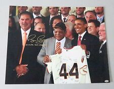 "123011 Bruce Bochy "" 2x WS Champs "" Signed 16x20 Photo AUTO LEAF COA SF Giants"