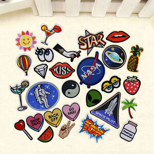 Cute-Embroidered-Sew-On-Iron-On-Patches-Badge-Bag-Dress-Fabric-Applique-Craft