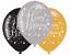 Happy-40th-Cumpleanos-Negro-Oro-Destellos-Fiesta-Gama-Decoraciones-pancartas-edad-40 miniatura 9